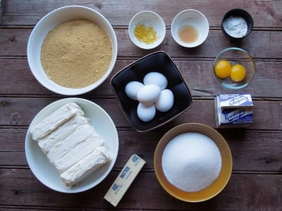 ingrediente cheesecake
